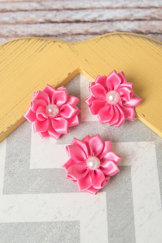 Best ideas about DIY Wedding Flowers Wholesale . Save or Pin Pink flower supplies DIY headband wholesale fabric Now.