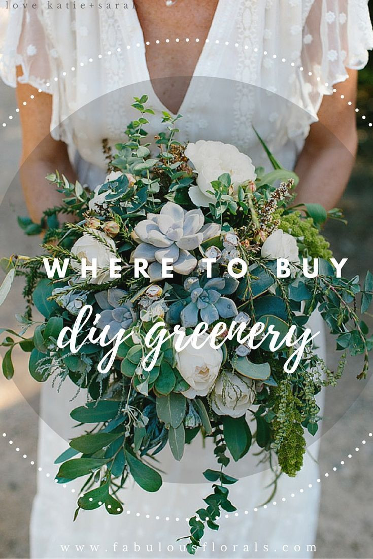 Best ideas about DIY Wedding Flowers Wholesale . Save or Pin Best 25 Greenery centerpiece ideas on Pinterest Now.