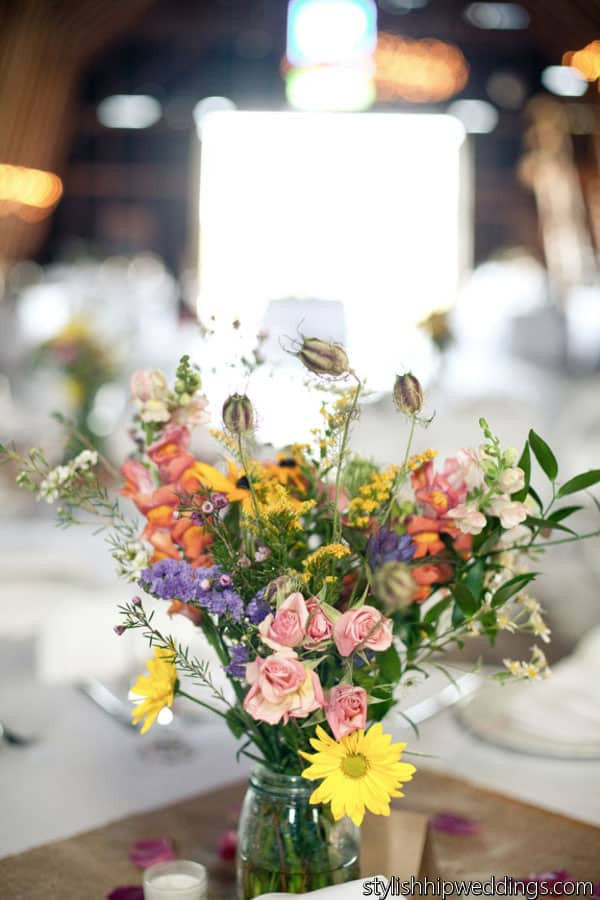 Best ideas about DIY Wedding Flowers Wholesale . Save or Pin Wildflower Wedding Centerpiece Wholesale Wedding Flowers Now.