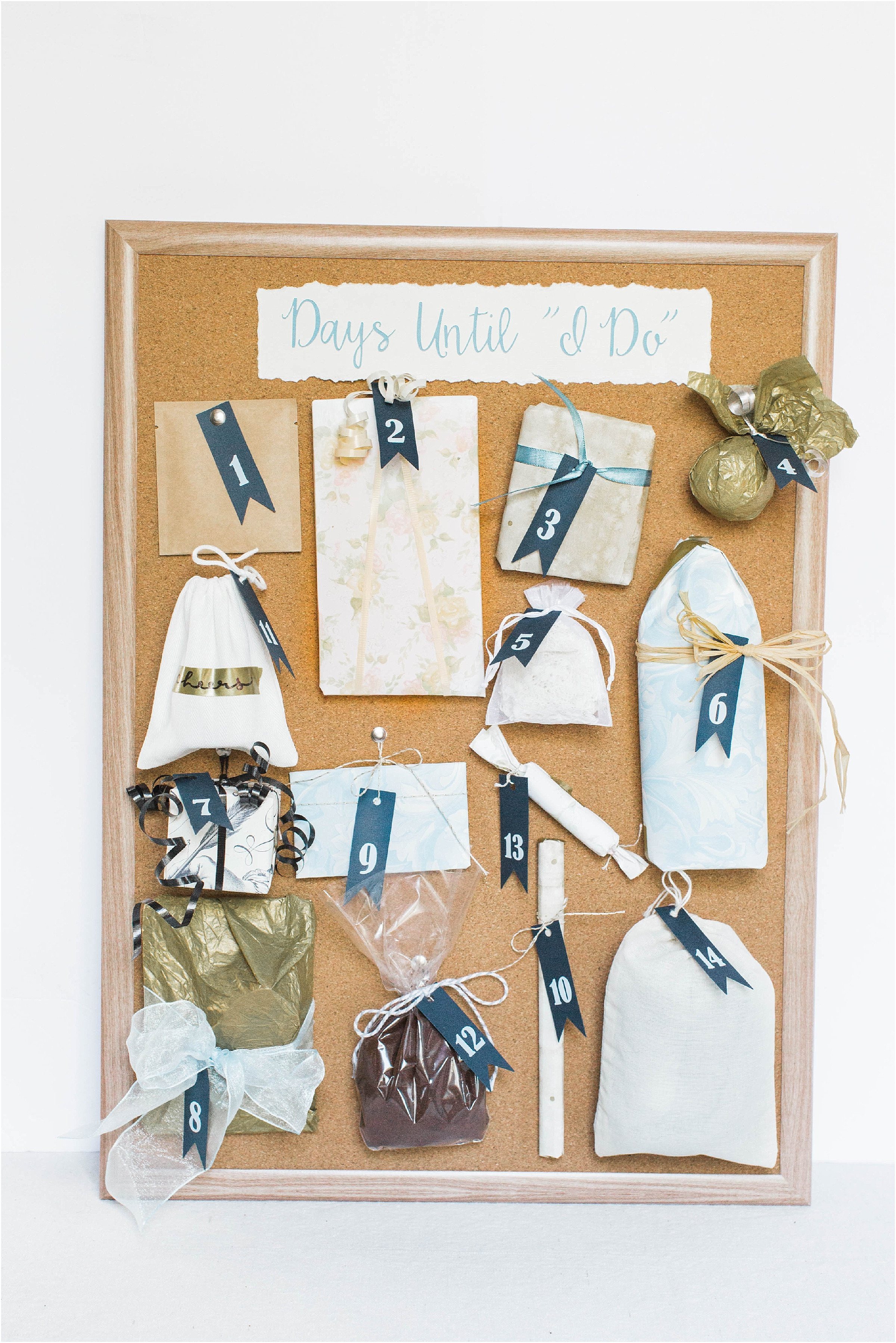 Best ideas about DIY Wedding Gift . Save or Pin How to DIY a Wedding Advent Calendar Now.