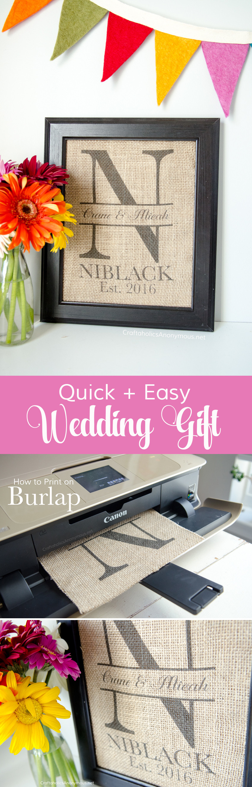 Best ideas about DIY Wedding Gift . Save or Pin Craftaholics Anonymous Now.