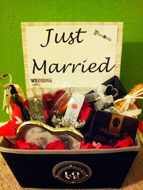 Best ideas about DIY Wedding Gifts For Bride And Groom . Save or Pin Wedding Gift Box After wedding fun for the Bride & Groom Now.