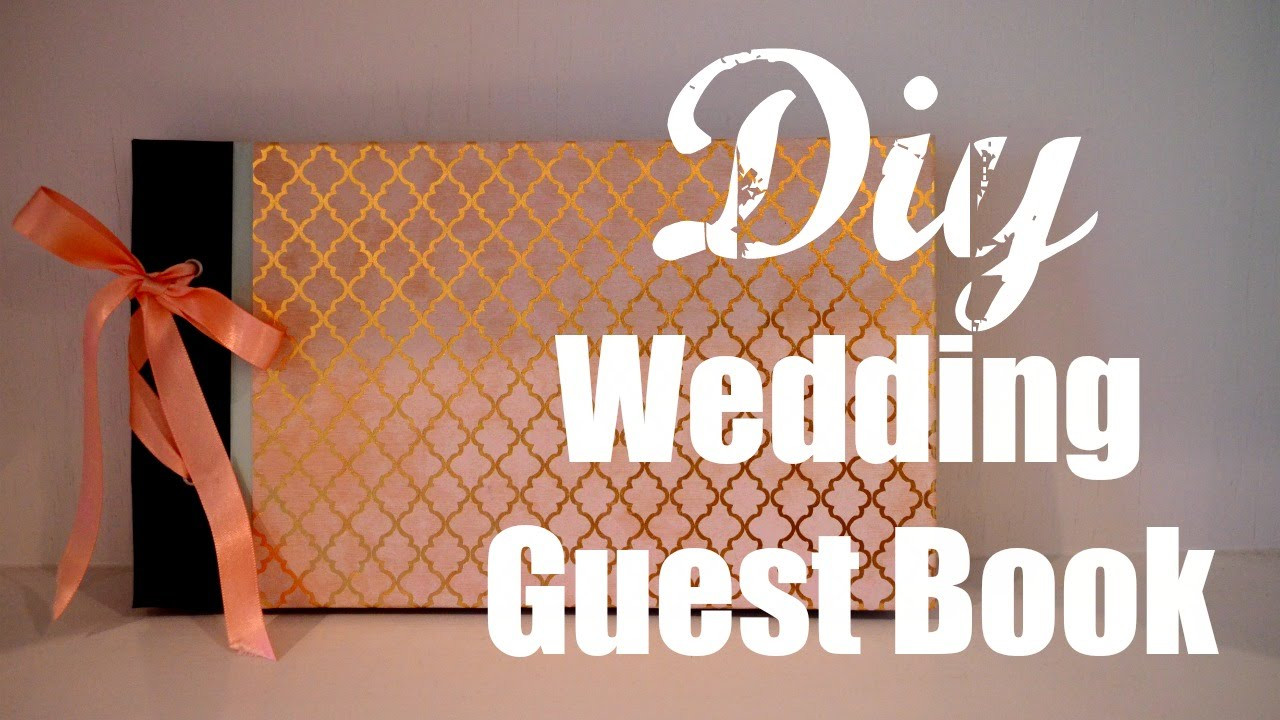 Best ideas about DIY Wedding Guest Books . Save or Pin DIY wedding guest book Now.