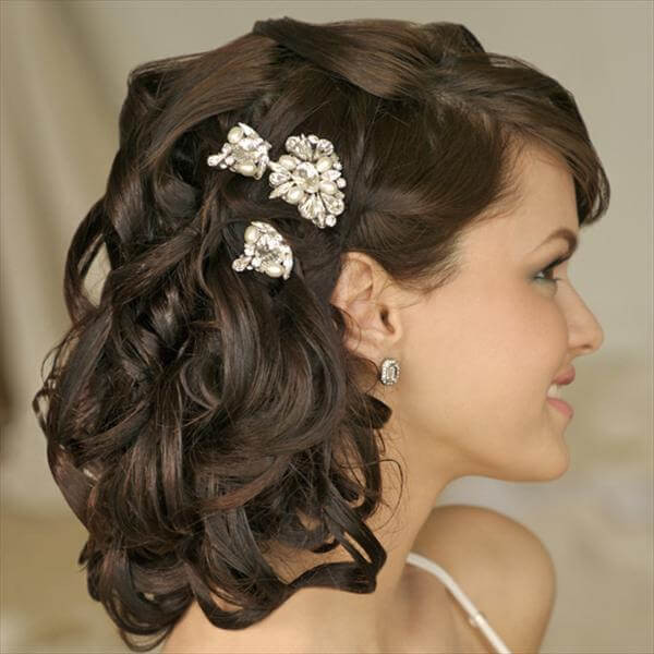 Best ideas about DIY Wedding Hair . Save or Pin DIY Easy Handmade Hairstyles For Wedding Now.