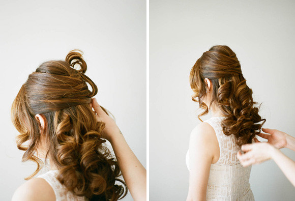 Best ideas about DIY Wedding Hair . Save or Pin 3 style wedding hair DIY tutorial Now.