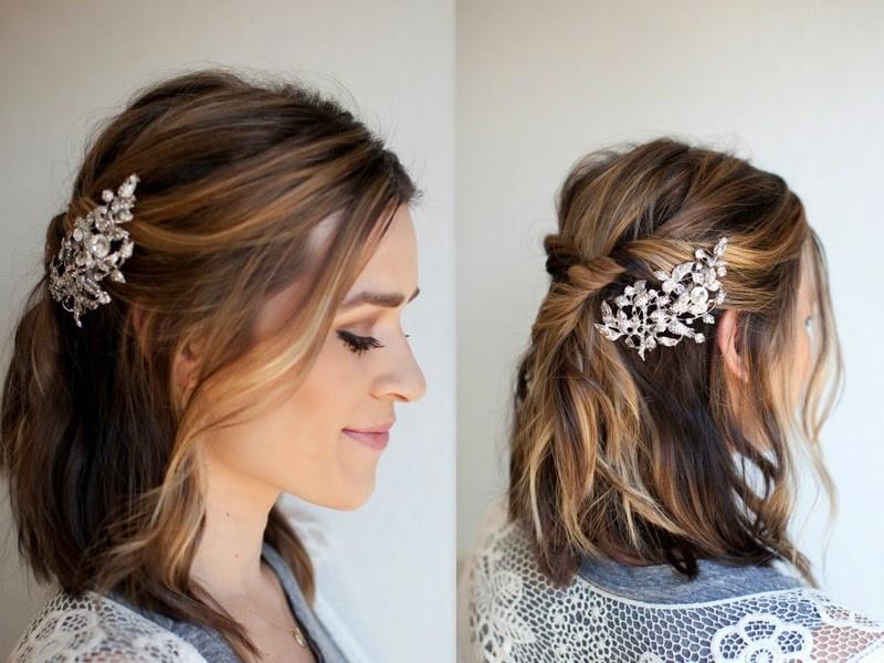 Best ideas about DIY Wedding Hair . Save or Pin TESSA RAYANNE THREE DIY Bridal Hair Tutorials Now.