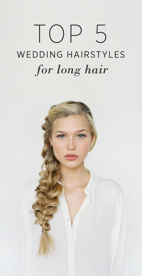 Best ideas about DIY Wedding Hair . Save or Pin Hairstyles for Long Hair DIY Weddings Now.