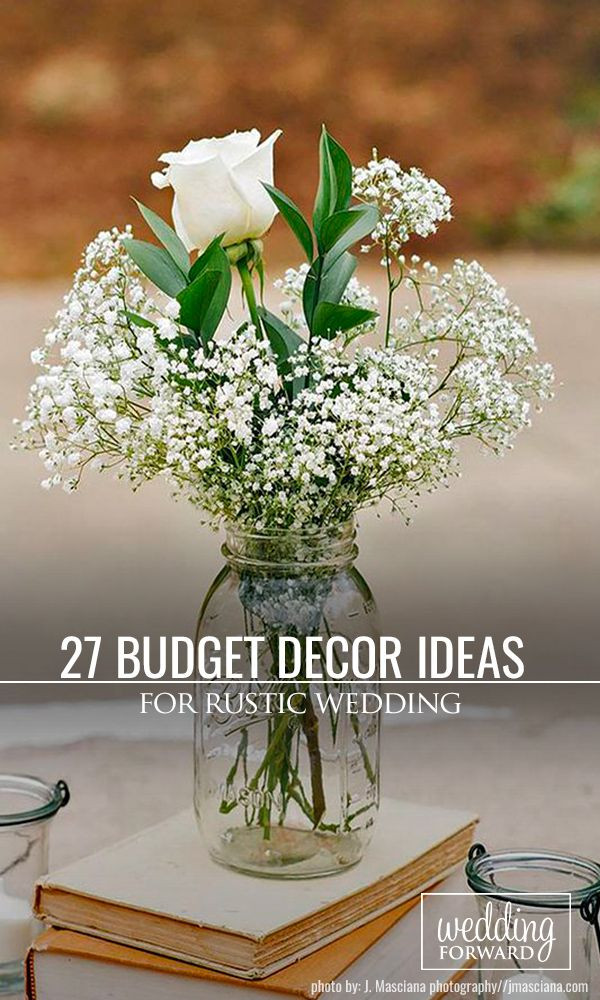 Best ideas about DIY Wedding Ideas For A Tight Budget . Save or Pin Best 25 Bud wedding decorations ideas on Pinterest Now.