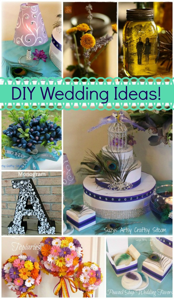 Best ideas about DIY Wedding Ideas On A Budget . Save or Pin 7 Unique DIY Wedding Ideas to keep you in your bud Now.
