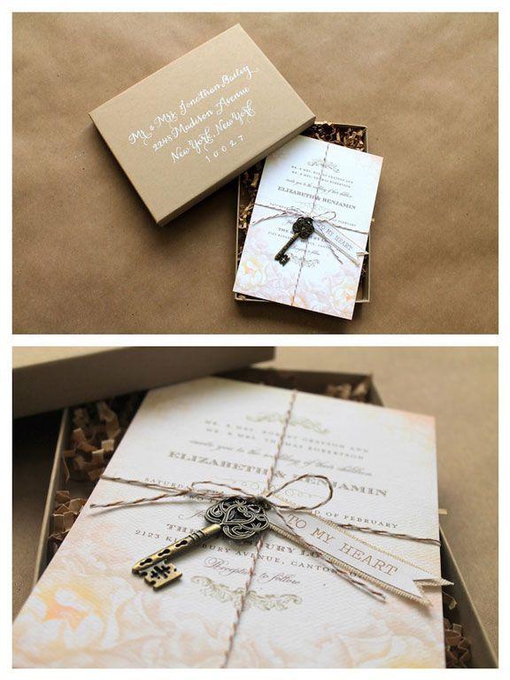 Best ideas about DIY Wedding Invitation Idea . Save or Pin 509 best DIY Wedding Invitations Ideas images on Pinterest Now.