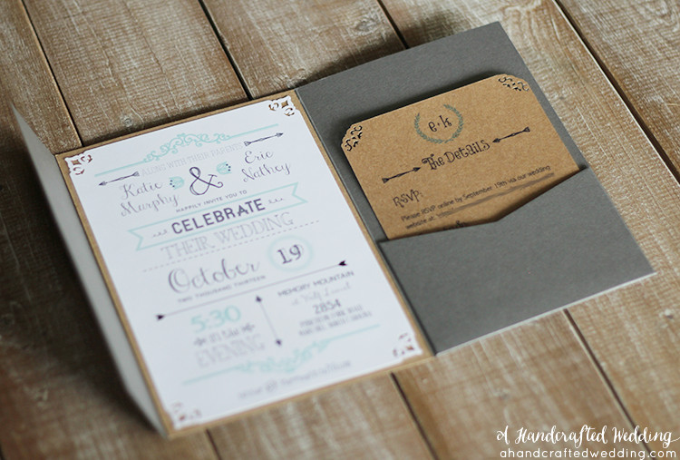 Best ideas about DIY Wedding Invitation Idea . Save or Pin DIY Wedding Invitations Our Favorite Free Templates Now.