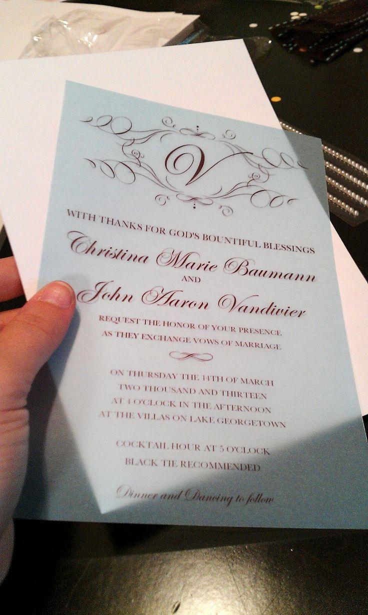 Best ideas about DIY Wedding Invitation Idea . Save or Pin 508 best images about DIY Wedding Invitations Ideas on Now.