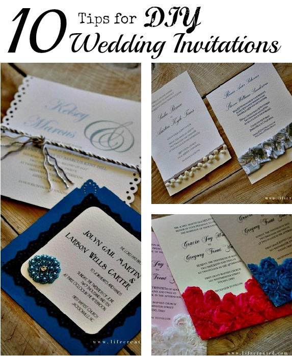 Best ideas about DIY Wedding Invitation Idea . Save or Pin Craftaholics Anonymous Now.