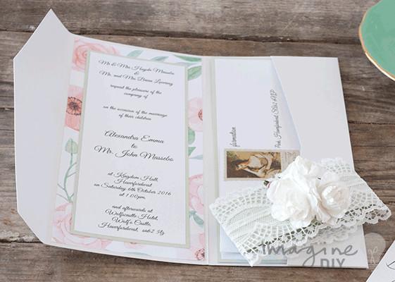 Best ideas about DIY Wedding Invitation Idea . Save or Pin Wedding Invitations Gallery Imagine DIY Now.