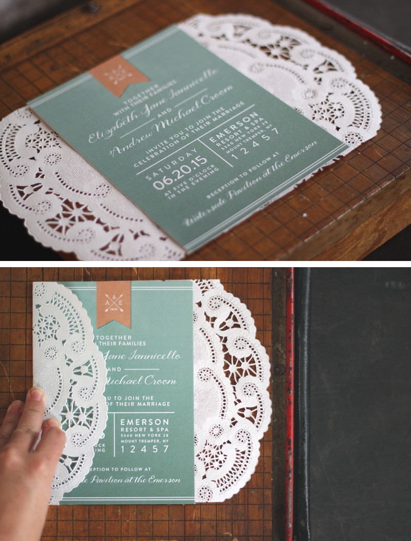 Best ideas about DIY Wedding Invitation Ideas . Save or Pin Best 25 Diy lace wedding invitations ideas on Pinterest Now.