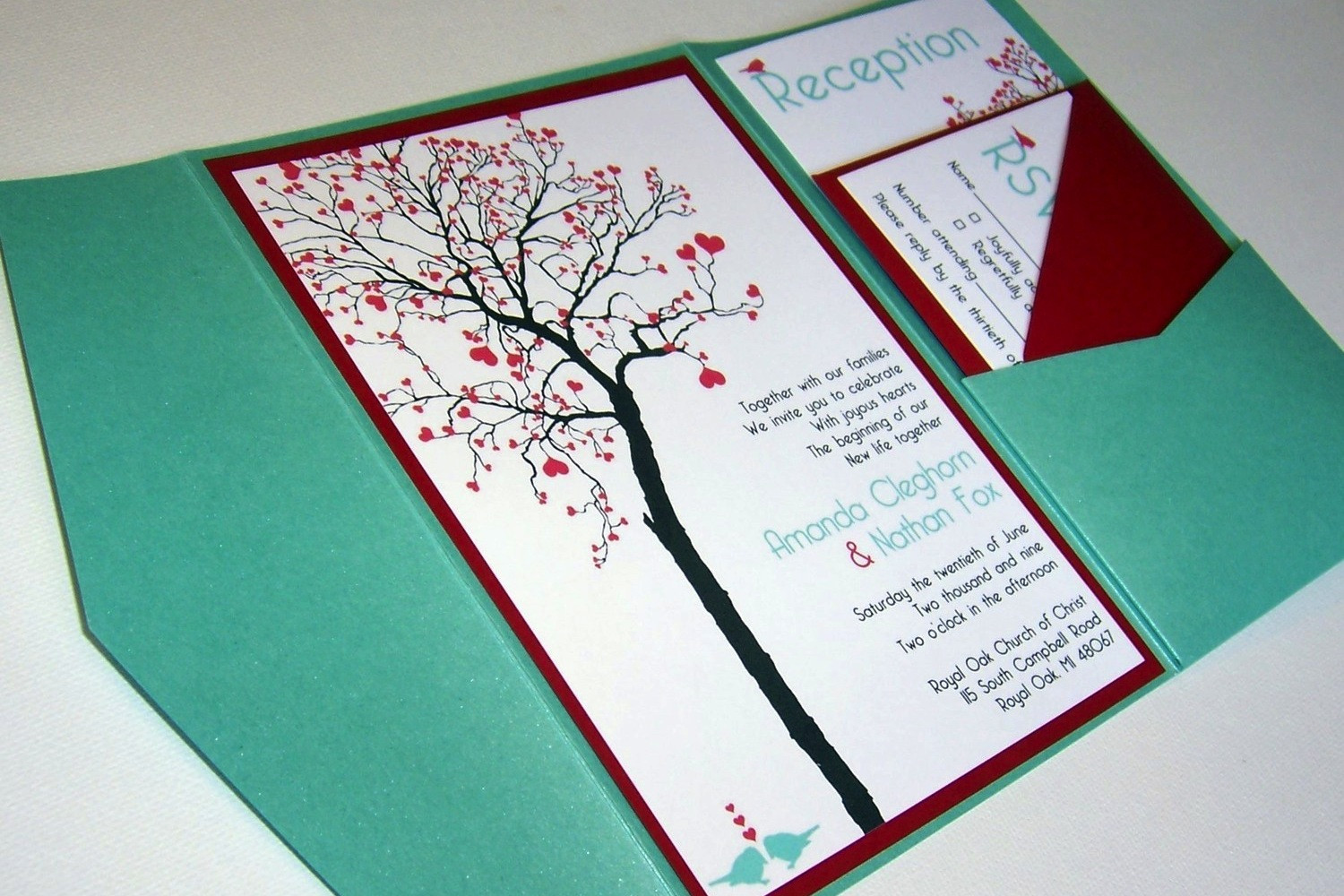 Best ideas about DIY Wedding Invitation Ideas . Save or Pin bud wedding ideas DIY invitations Etsy weddings teal Now.