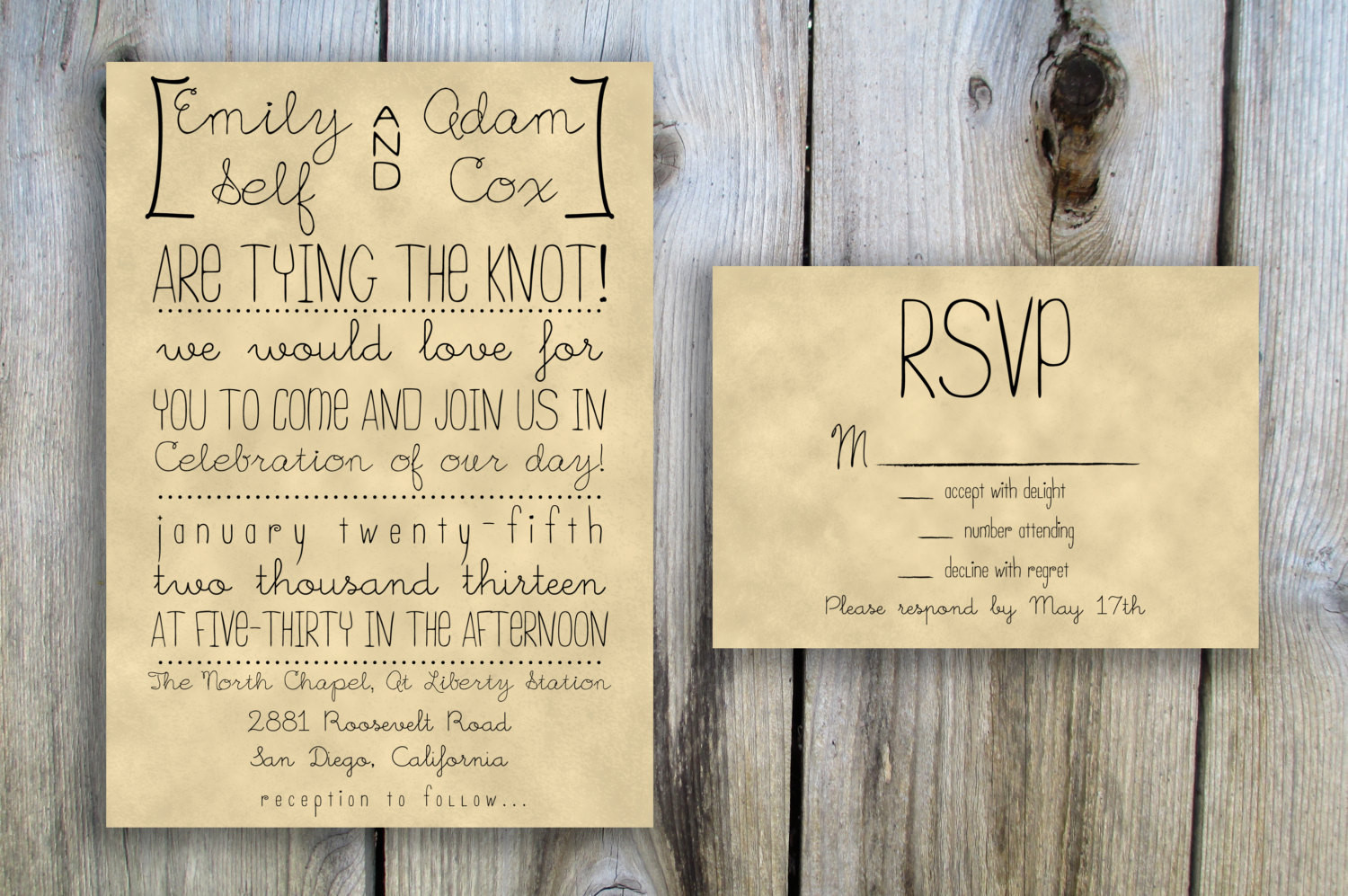 Best ideas about DIY Wedding Invitation Ideas . Save or Pin 30 Unique Vintage Wedding Invitations Now.