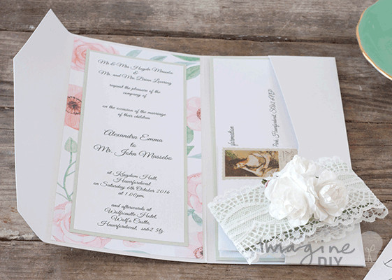 Best ideas about DIY Wedding Invitation Ideas . Save or Pin Wedding Invitations Gallery Imagine DIY Now.