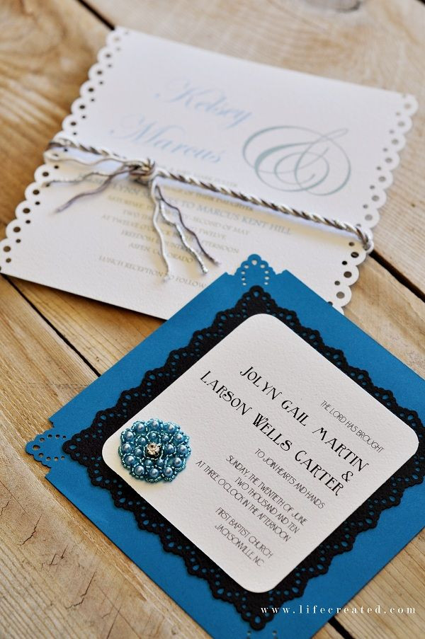 Best ideas about DIY Wedding Invitation Ideas . Save or Pin 1000 images about DIY Wedding Invitations Ideas on Now.