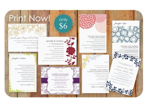 Best ideas about DIY Wedding Invitation Templates . Save or Pin DIY Wedding Invitation Templates Now.