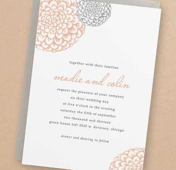 Best ideas about DIY Wedding Invitation Templates . Save or Pin Printable Wedding Invitation Template INSTANT DOWNLOAD Now.