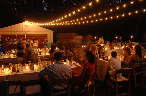 Best ideas about DIY Wedding Lighting . Save or Pin Our $4000 Backyard Wedding Now.