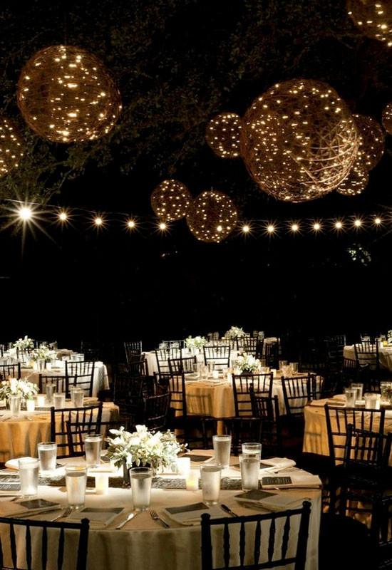 Best ideas about DIY Wedding Lighting . Save or Pin Wedding Reception Lighting Ideas Now.