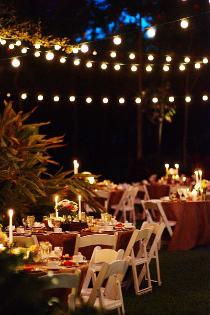 Best ideas about DIY Wedding Lighting . Save or Pin Real Weddings Candice & Mike s DIY Wedding in Florida Now.