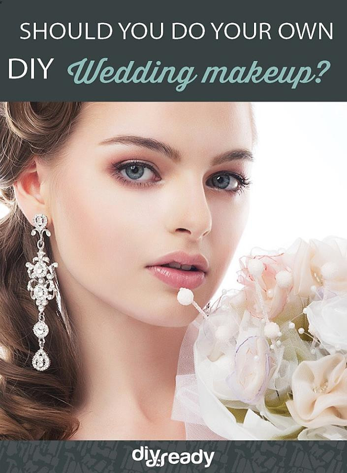 Best ideas about DIY Wedding Makeup . Save or Pin Pros and Cons of Doing Your Own Wedding Makeup DIY Now.