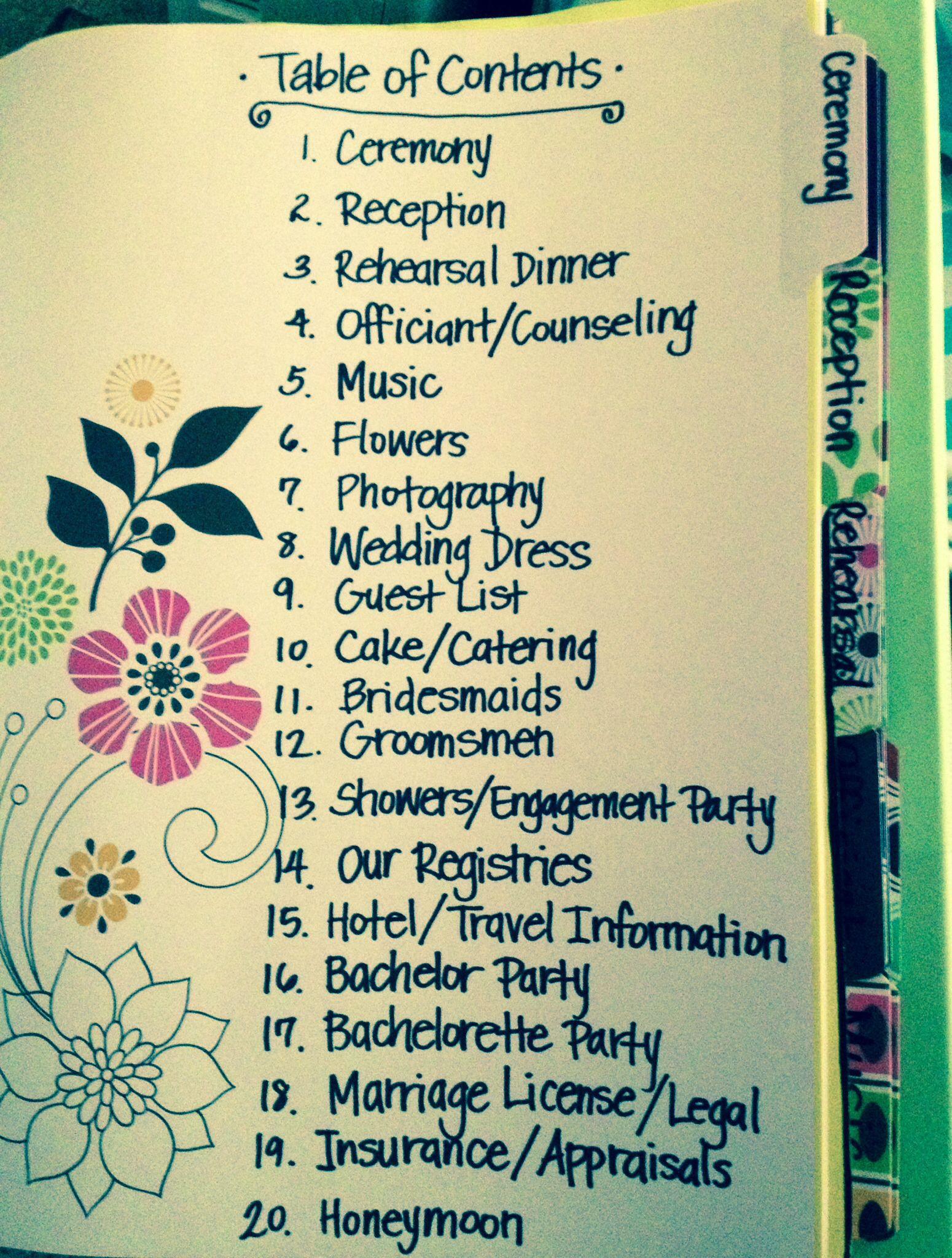 Best ideas about DIY Wedding Planner . Save or Pin wedding planning binder best photos Weddings Now.