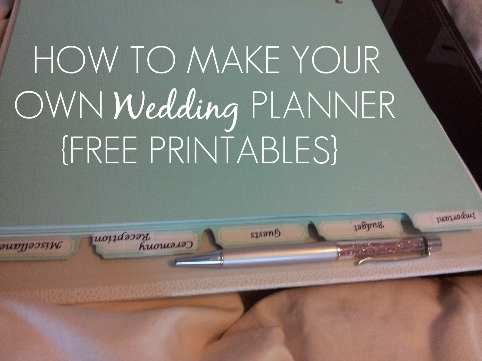 Best ideas about DIY Wedding Planner Binder . Save or Pin Sleepless in DIY Bride Country How to make your own Now.