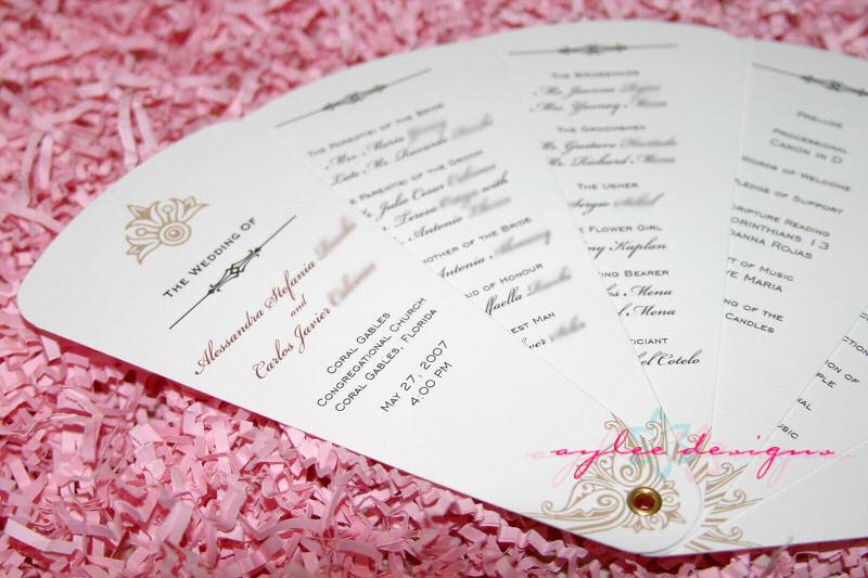 Best ideas about DIY Wedding Program Fan Template . Save or Pin Free Wedding Templates DIY Wedding Programs Now.
