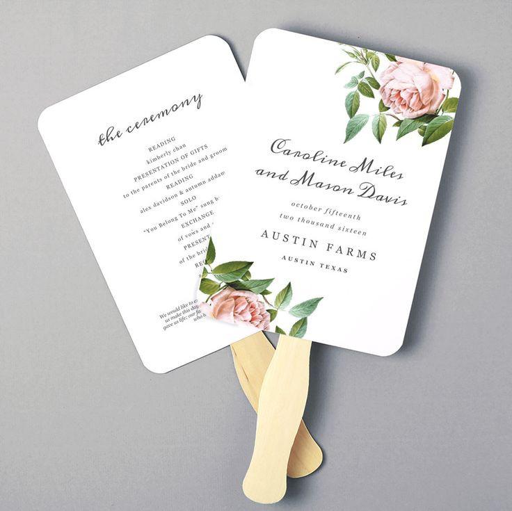Best ideas about DIY Wedding Program Fan Templates . Save or Pin Best 25 Wedding program templates ideas on Pinterest Now.