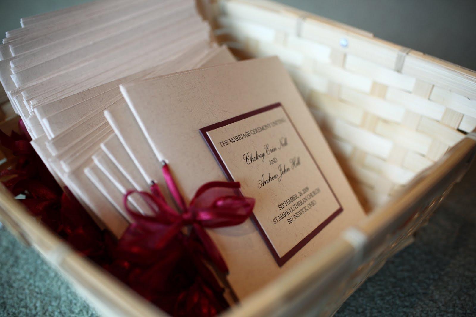 Best ideas about DIY Wedding Program Templates . Save or Pin Pretty My Drink DIY Wedding Programs Now.