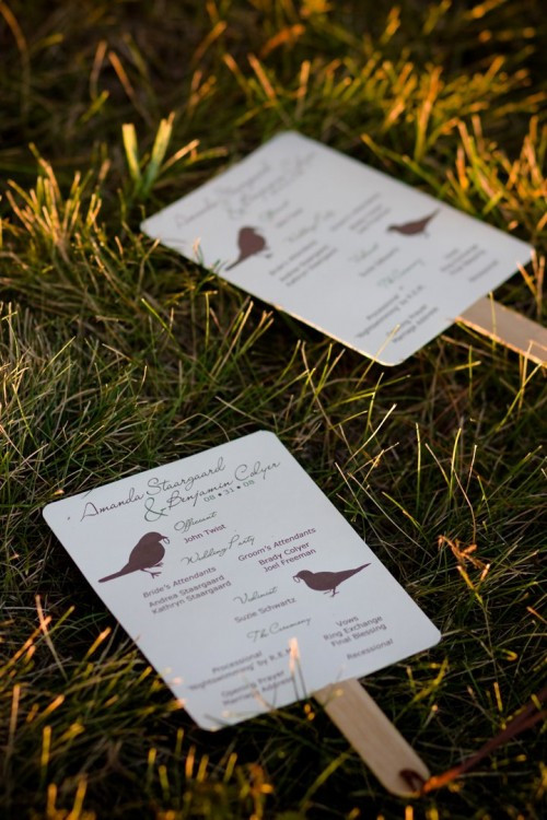 Best ideas about DIY Wedding Programs Fans . Save or Pin Easy DIY Wedding Programs Tutorial Now.