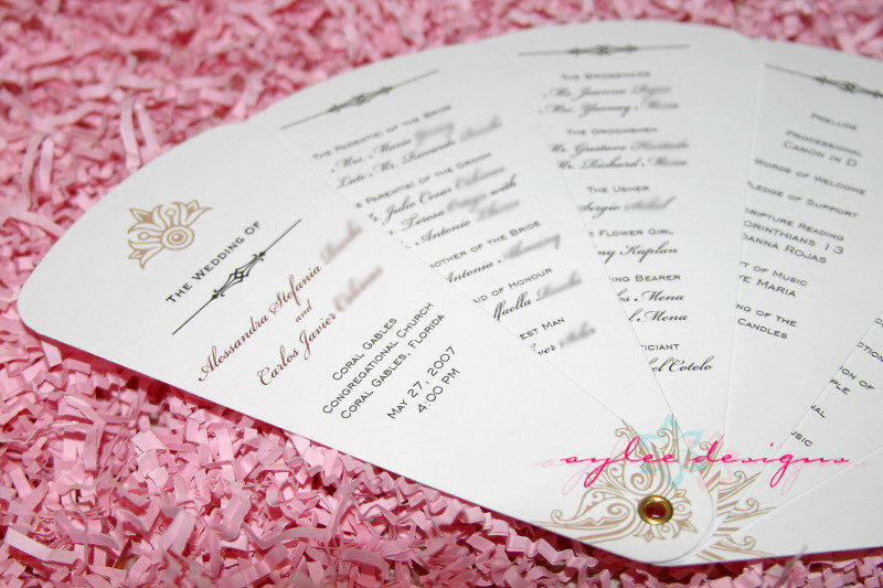 Best ideas about DIY Wedding Programs Fans . Save or Pin DIY Wedding Ideas and Tutorials Now.