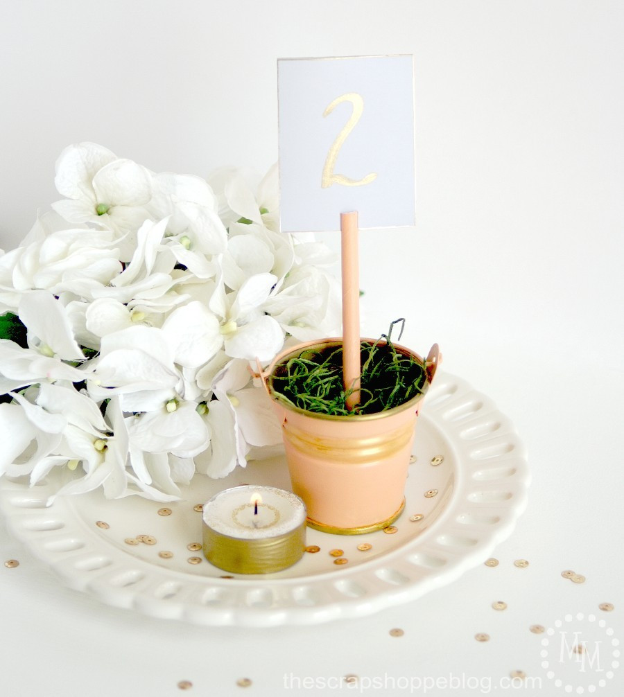 Best ideas about DIY Wedding Reception . Save or Pin DIY Wedding Reception Table Number The Scrap Shoppe Now.
