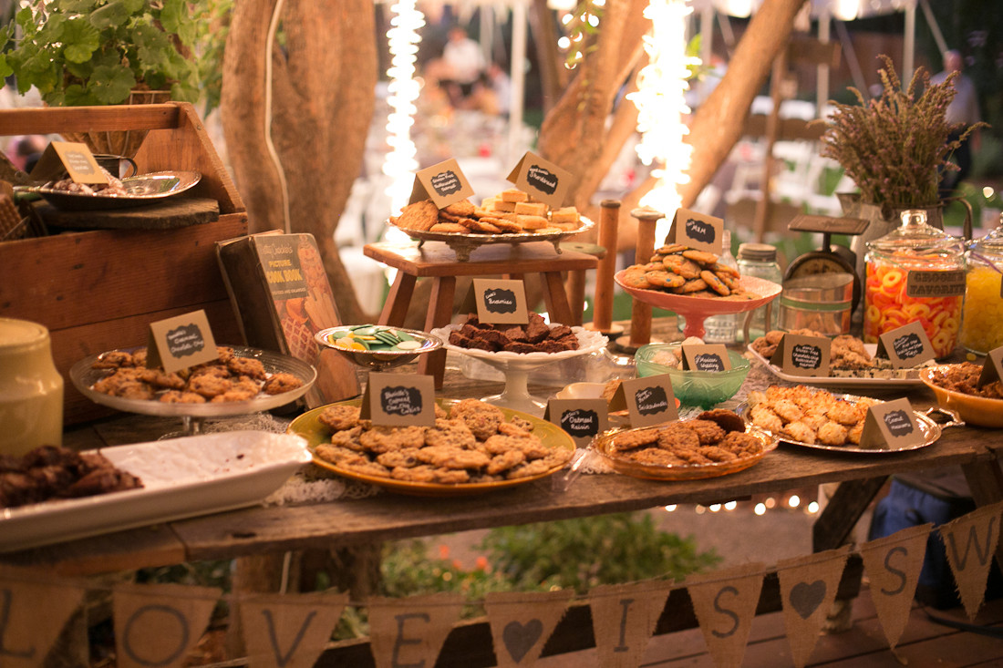Best ideas about DIY Wedding Reception . Save or Pin DIY Backyard BBQ Wedding Reception Snixy Kitchen Now.