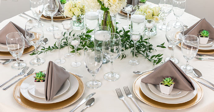 Best ideas about DIY Wedding Reception Decor . Save or Pin DIY Dollar Tree Wedding Reception Tablescape Elegance Now.