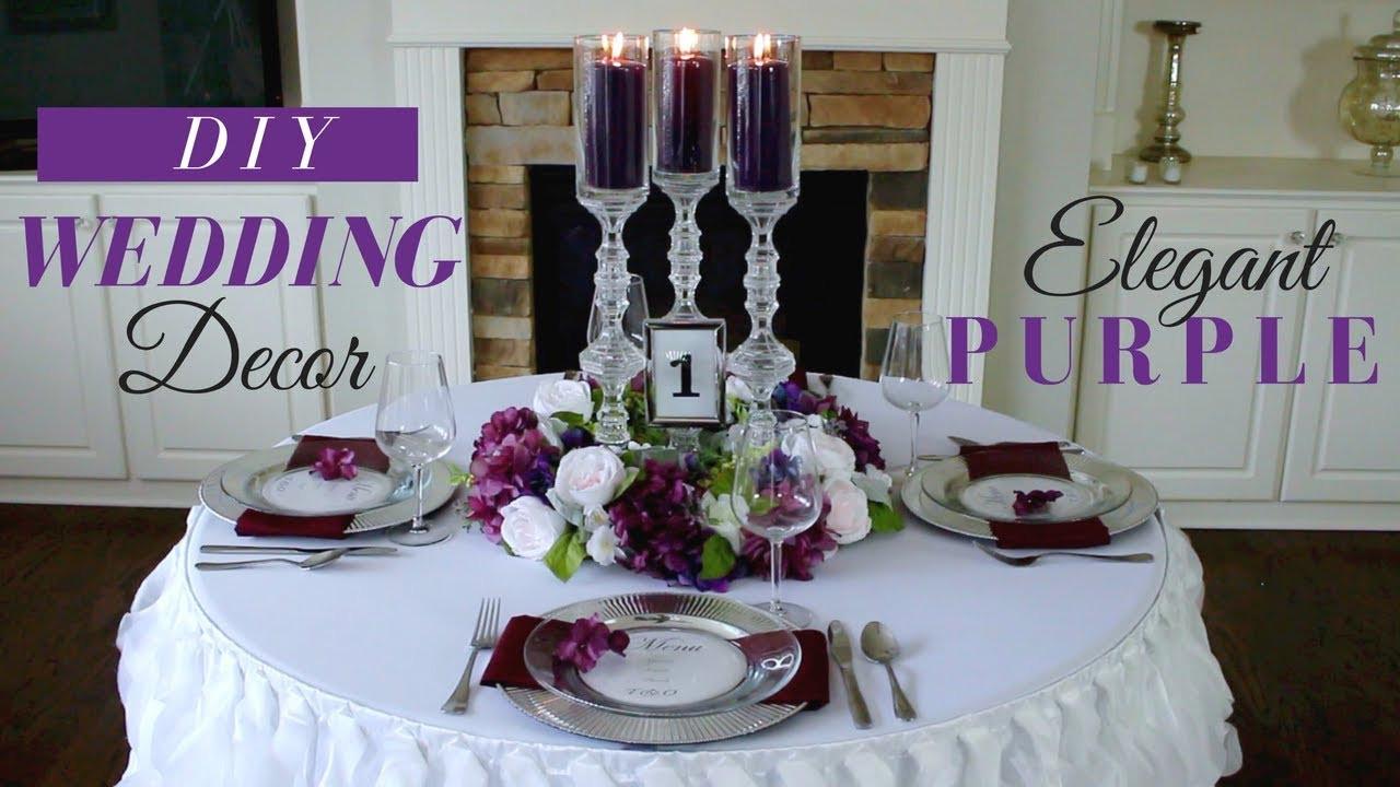 Best ideas about DIY Wedding Reception Decor . Save or Pin DIY Elegant Wedding Reception Decoration Now.