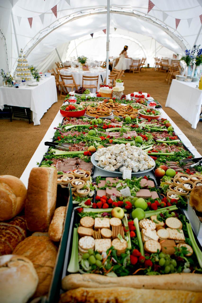Best ideas about DIY Wedding Reception Food . Save or Pin A Picnic Wedding Alex & Denise · Rock n Roll Bride Now.