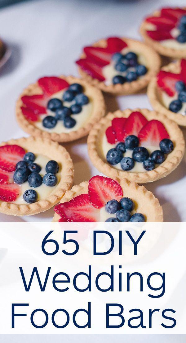Best ideas about DIY Wedding Reception Food . Save or Pin Food & Favor 65 DIY Wedding Food Bar Ideas Now.
