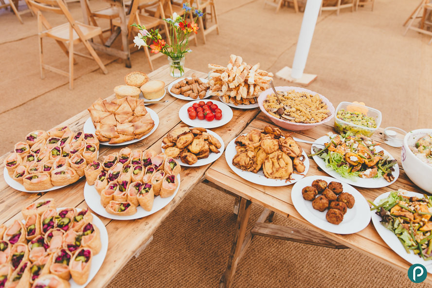Best ideas about DIY Wedding Reception Food . Save or Pin Somerset weddings Roughmoor Farm Now.