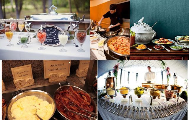 Best ideas about DIY Wedding Reception Food . Save or Pin Southern fort The Grits Bar Wedding foods stations or Now.