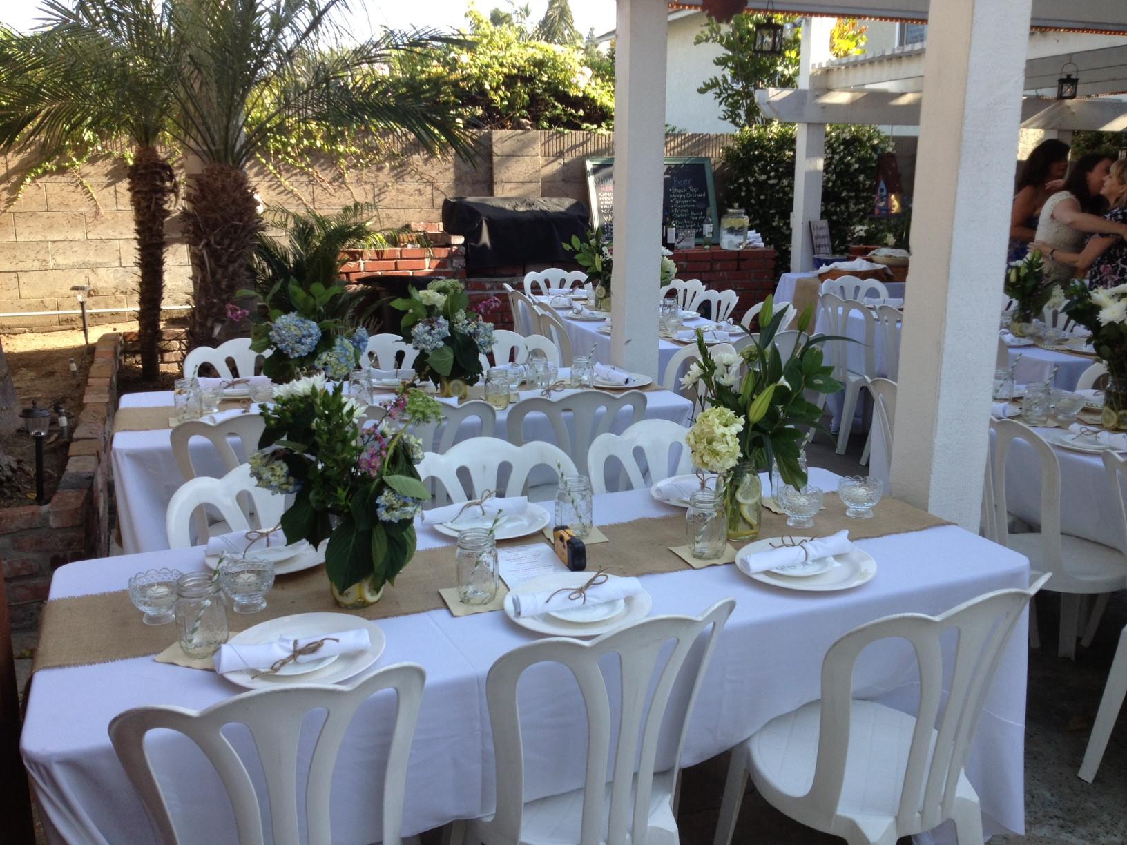 Best ideas about DIY Wedding Reception Ideas . Save or Pin Backyard DIY Wedding Reception Now.