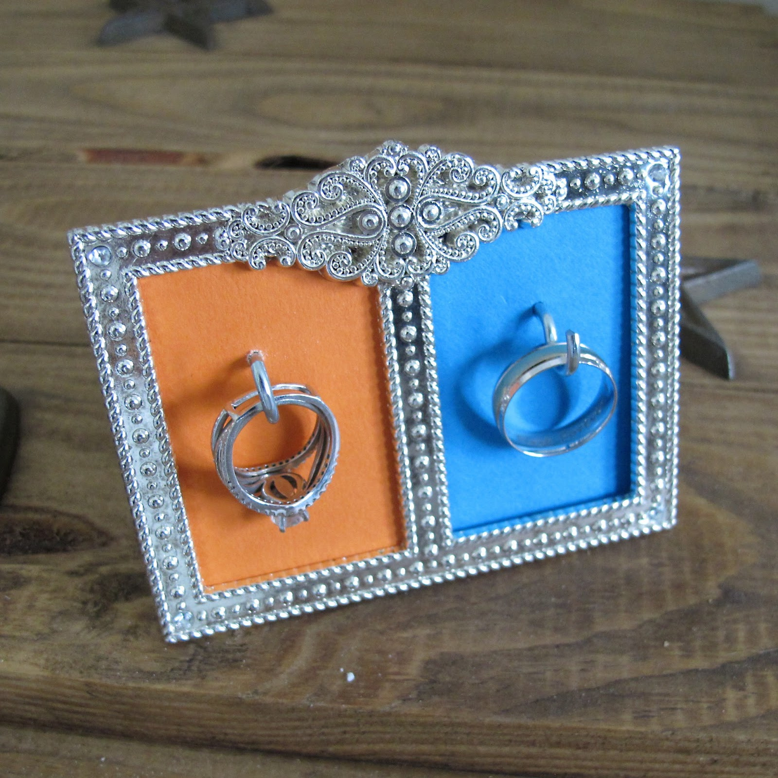 Best ideas about DIY Wedding Ring . Save or Pin Rants of A Quirky Girl DIY Wedding Ring Framed Holder Now.