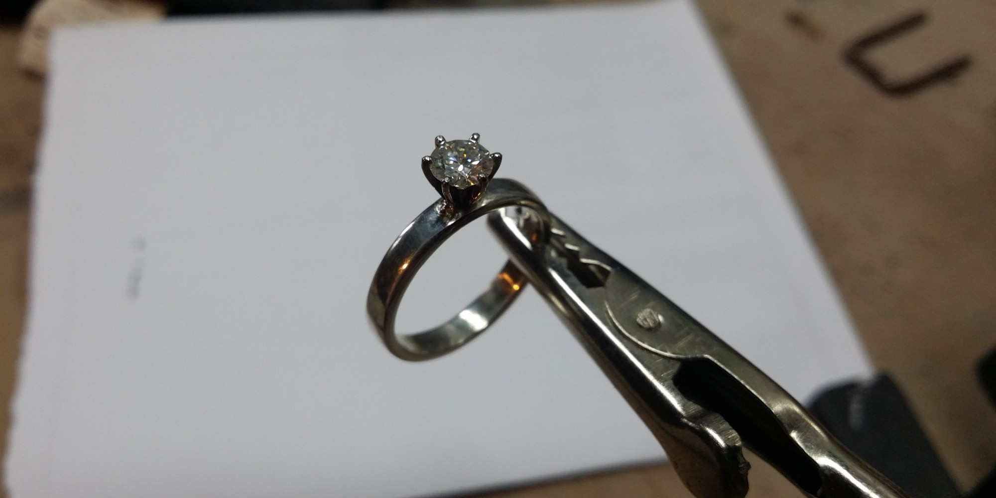 Best ideas about DIY Wedding Ring . Save or Pin This Man Secretly Hand Made A Unique Engagement Ring While Now.