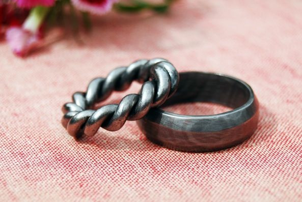 Best ideas about DIY Wedding Ring . Save or Pin Romantic Metalwork Rings DIY Wedding rings Now.
