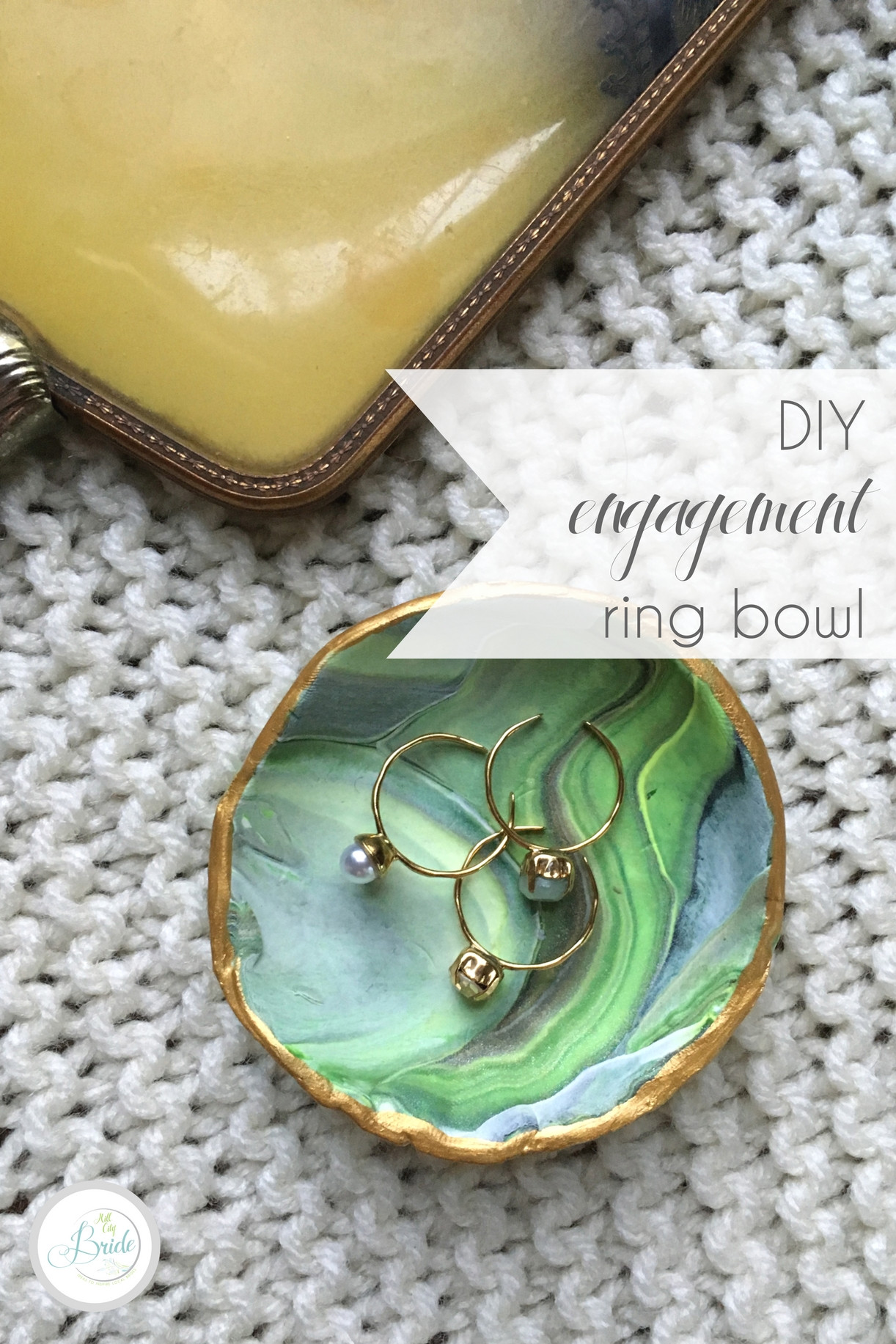 Best ideas about DIY Wedding Ring . Save or Pin DIY Engagement Ring Bowl Hill City Bride Now.