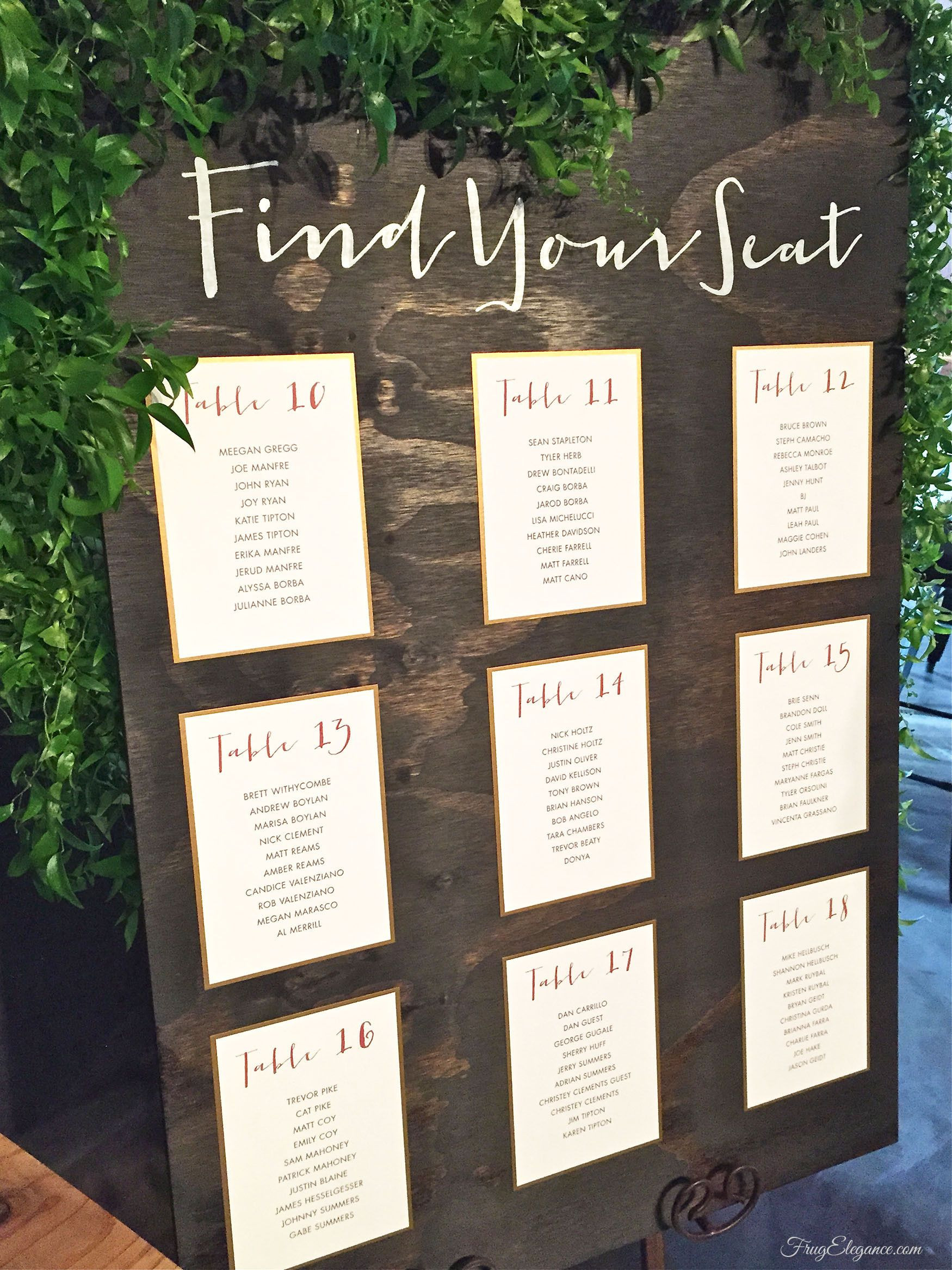 Best ideas about DIY Wedding Seating Chart . Save or Pin diy wedding seating chart Google Search Now.